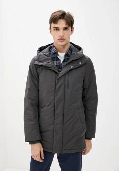 Куртка утепленная, Finn Flare, цвет: серый. Артикул: FI001EMJSLN0.