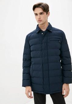 Куртка утепленная, Finn Flare, цвет: синий. Артикул: FI001EMJSLN3.