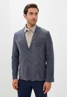 Пиджак, Finn Flare, цвет: синий. Артикул: FI001EMJSLR6.