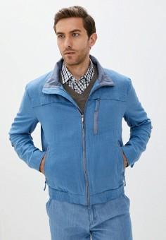 Куртка, Finn Flare, цвет: синий. Артикул: FI001EMJSLU2.