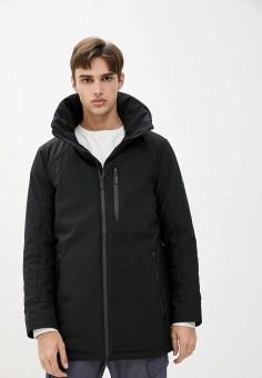 Куртка утепленная, Finn Flare, цвет: черный. Артикул: FI001EMJSLW7. Одежда / Верхняя одежда / Пуховики и зимние куртки