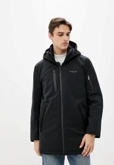 Куртка утепленная, Finn Flare, цвет: черный. Артикул: FI001EMJSLX2.