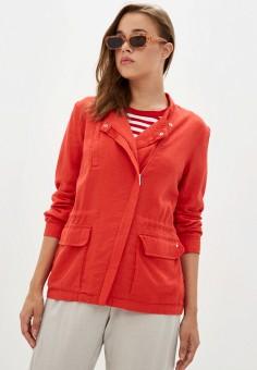 Куртка, Finn Flare, цвет: красный. Артикул: FI001EWJTFD9.