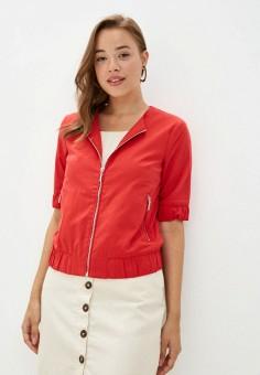 Куртка, Finn Flare, цвет: красный. Артикул: FI001EWKBMH4.