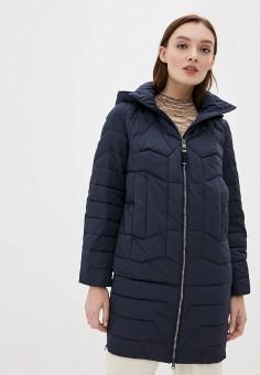 Куртка утепленная, Finn Flare, цвет: синий. Артикул: FI001EWKBNL6. Одежда / Верхняя одежда / Демисезонные куртки