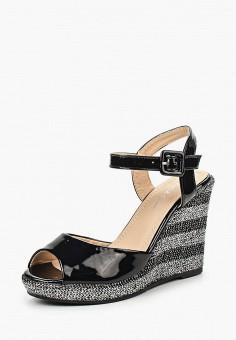 Босоножки, Fiori&Spine, цвет: черный. Артикул: FI021AWISY50. Обувь / Эспадрильи