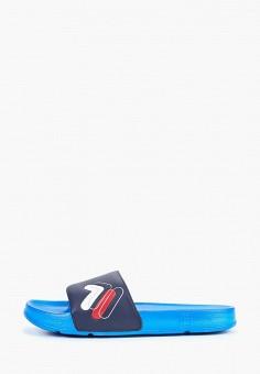 Сланцы Fila - цвет: синий, Китай, FI030AMEJFM2  - купить со скидкой