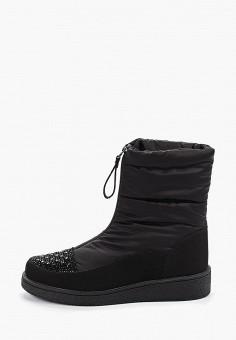 Дутики, Finn Line, цвет: черный. Артикул: FI616AWGQTP5. Обувь / Сапоги / Дутики