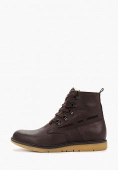 Ботинки, Floktar, цвет: коричневый. Артикул: FL020AMGBPI4. Обувь / Ботинки / Высокие ботинки