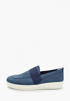Лоферы, Floktar, цвет: синий. Артикул: FL020AMJIRA2. Обувь / Туфли