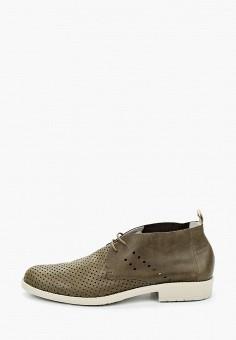 Ботинки, Floktar, цвет: хаки. Артикул: FL020AMJIRB0. Обувь / Ботинки / Низкие ботинки