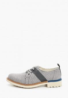 Ботинки, Floktar, цвет: серый. Артикул: FL020AMJKCE1. Обувь / Ботинки / Низкие ботинки