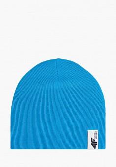Шапка, 4F, цвет: синий. Артикул: FO027CBHYKZ8. Мальчикам / Аксессуары