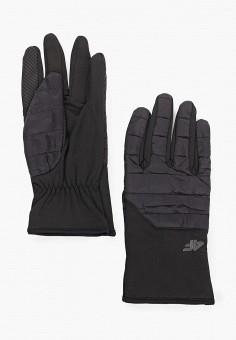 Перчатки, 4F, цвет: черный. Артикул: FO027DUHSGH6. Аксессуары / Перчатки и варежки