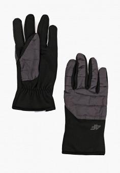 Перчатки, 4F, цвет: серый. Артикул: FO027DUHSGI1. Аксессуары / Перчатки и варежки
