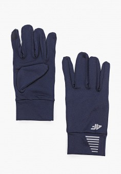 Перчатки, 4F, цвет: синий. Артикул: FO027DUHSGI4. Аксессуары / Перчатки и варежки
