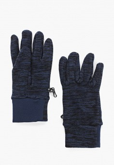 Перчатки, 4F, цвет: синий. Артикул: FO027DUHSGI5. Аксессуары / Перчатки и варежки