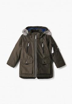 Парка, 4F, цвет: хаки. Артикул: FO027EBHYLD7. Мальчикам / Одежда / Верхняя одежда / Куртки и пуховики