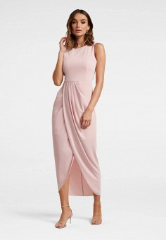 Платье, Forever New, цвет: бежевый. Артикул: FO034EWILHN4. Одежда / Платья и сарафаны / Вечерние платья
