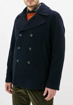 Полупальто, French Connection, цвет: синий. Артикул: FR003EMGUIQ3. Одежда / Верхняя одежда / Пальто
