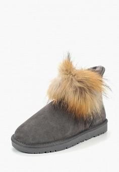 Полусапоги, Fri & Daytime, цвет: серый. Артикул: FR030AWDIZF2. Обувь / Сапоги / Угги и унты