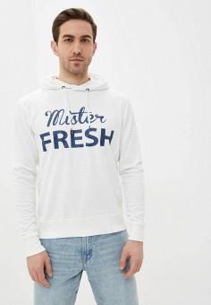 Худи, Fresh Brand, цвет: белый. Артикул: FR040EMJHRC4. Одежда / Толстовки и олимпийки / Худи
