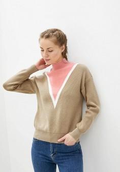 Водолазка, Fresh Cotton, цвет: бежевый. Артикул: FR043EWHXVJ5. Одежда / Джемперы, свитеры и кардиганы / Водолазки