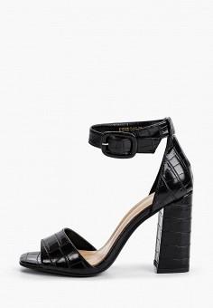 Босоножки, Francesca Peretti, цвет: черный. Артикул: FR072AWINBC8. Обувь / Босоножки