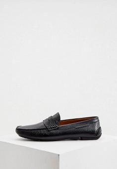 Мокасины, Fratelli Rossetti One, цвет: черный. Артикул: FR950AMILLB7. Обувь / Мокасины и топсайдеры