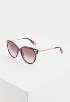Очки солнцезащитные, Furla, цвет: фиолетовый. Артикул: FU003DWIUIK0.