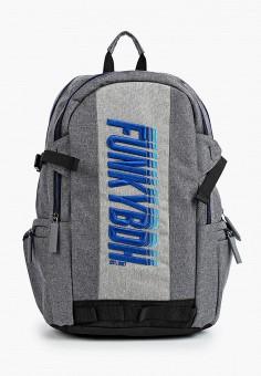 Рюкзак, Funky Buddha, цвет: серый. Артикул: FU006BMIETD8. Аксессуары / Рюкзаки