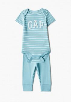Комплект, Gap, цвет: бирюзовый. Артикул: GA020EBIDPR5. Новорожденным / Одежда