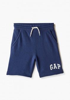 Шорты спортивные, Gap, цвет: синий. Артикул: GA020EBIDPS9.
