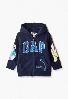 Толстовка, Gap, цвет: синий. Артикул: GA020EBIDPU7.