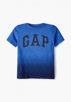 Футболка, Gap, цвет: синий. Артикул: GA020EBIDQQ2.