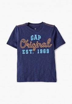 Футболка, Gap, цвет: синий. Артикул: GA020EBIDQQ6.