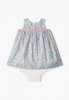 Платье, Gap, цвет: мультиколор. Артикул: GA020EGIDPP7. Девочкам / Одежда / Платья и сарафаны