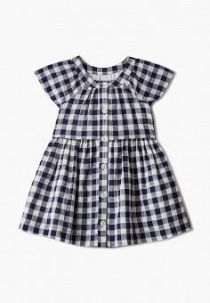 Платье, Gap, цвет: синий. Артикул: GA020EGIDQH1. Девочкам / Одежда / Платья и сарафаны