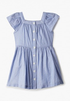 Платье, Gap, цвет: голубой. Артикул: GA020EGIDRG9. Девочкам / Одежда / Платья и сарафаны