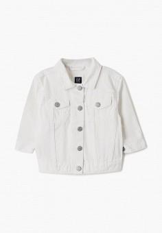 Куртка джинсовая, Gap, цвет: белый. Артикул: GA020EGIDRH6.
