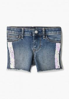 Шорты джинсовые, Gap, цвет: синий. Артикул: GA020EGIDRK0.
