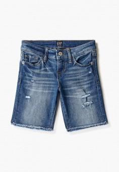 Шорты джинсовые, Gap, цвет: синий. Артикул: GA020EGIDRK1.
