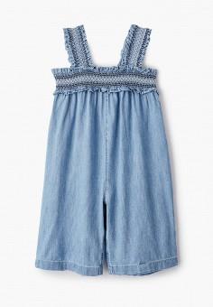 Комбинезон джинсовый, Gap, цвет: голубой. Артикул: GA020EGIWDO1.