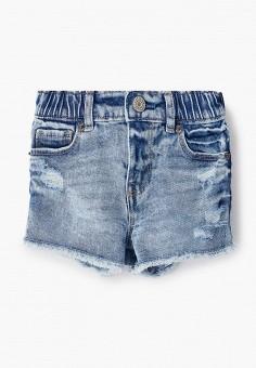 Шорты джинсовые, Gap, цвет: голубой. Артикул: GA020EGIWDO2.