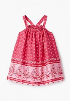 Сарафан, Gap, цвет: розовый. Артикул: GA020EGIWDO4. Девочкам / Одежда / Платья и сарафаны