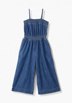 Комбинезон джинсовый, Gap, цвет: синий. Артикул: GA020EGIWEB5.
