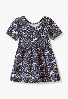 Платье, Gap, цвет: синий. Артикул: GA020EGKANO6.