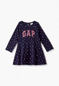 Платье, Gap, цвет: синий. Артикул: GA020EGKANP3.