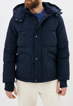 Куртка утепленная, Gap, цвет: синий. Артикул: GA020EMGQXM9. Одежда / Верхняя одежда / Пуховики и зимние куртки
