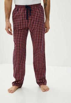 Брюки домашние, Gap, цвет: красный. Артикул: GA020EMIDGO9. Одежда / Домашняя одежда